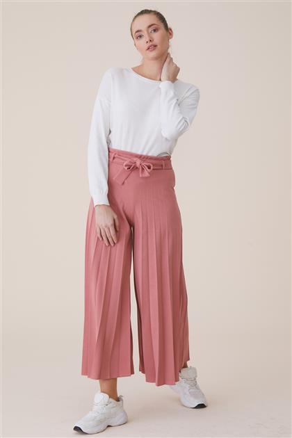 Pants-Dried rose MS118-53