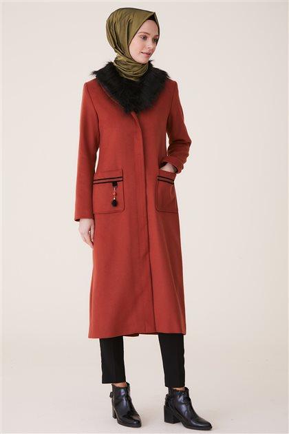 Doque جاكيت طويل-أحمر قرميدي ar-DO-A8-57012-67
