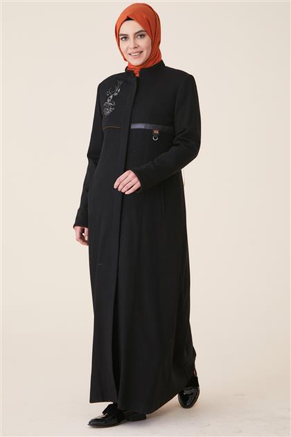 Manto-Siyah DO-A9-58039-12