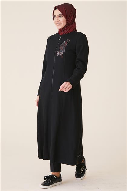 Doque جاكيت طويل-أسود ar-DO-A9-57008-12