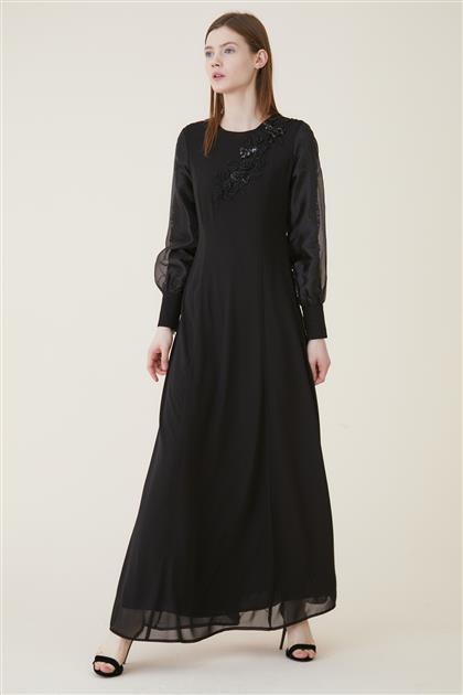 Elbise-Siyah KA-A9-23034-12