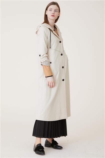 Coat-Cream KA-A9-17075-13