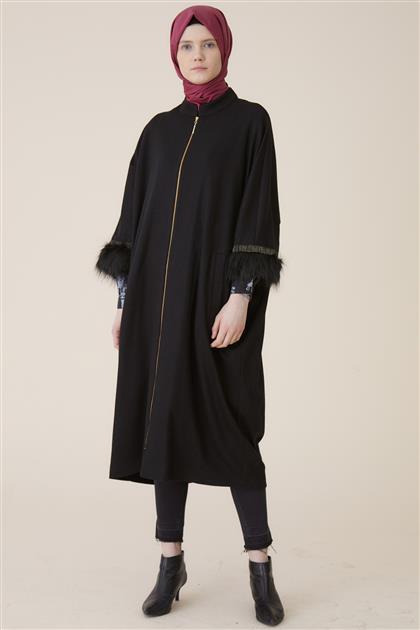 Kayra ملابس خارجية-أسود ar-KA-A9-25090-12