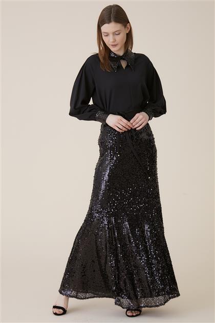 Skirt-Black KA-A9-12016-12