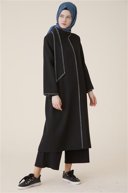 Coat-Black KA-A9-17076-12