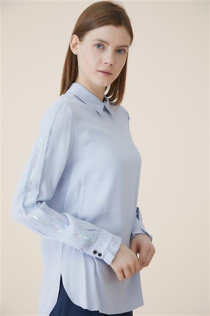 Blouse-Blue KA-A9-10060-09