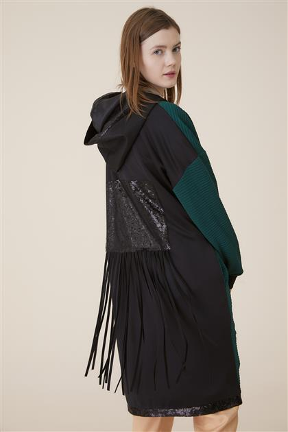 Kayra ملابس خارجية-أخضر ar-KA-A9-25015-25