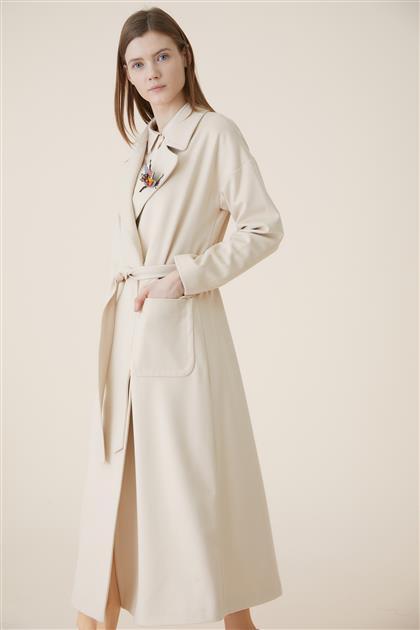 Coat-Cream KA-A9-17007-13