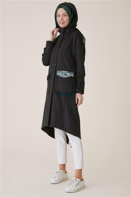 Coat-Black KA-A9-17047-12