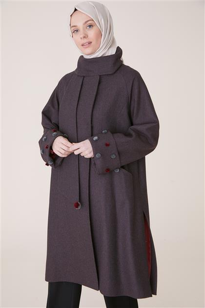 Coat-Black Claret Red KA-A9-17014-1226