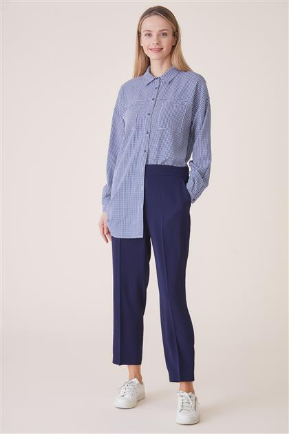 Pants-Navy Blue TK-U7633-08