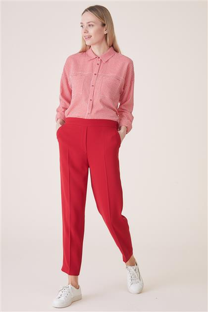 Pants-Red TK-U7633-11