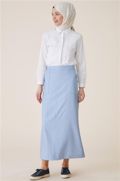 Skirt-Blue TK-U8618-32