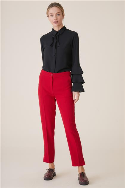 Pants-Red TK-U3611-11