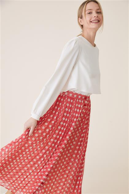 Skirt-Red TK-U7643-11