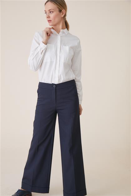Pantolon-Lacivert TK-U6608-8