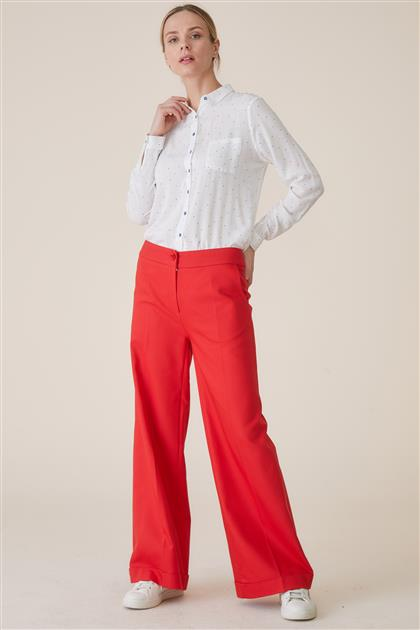 Pants-Red TK-U6608-11