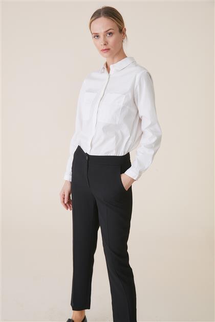 Dar Paca Pantolon-Siyah TK-U3627-9