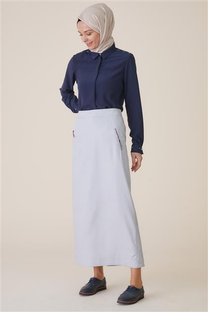 Skirt-Light Blue TK-U8609-16
