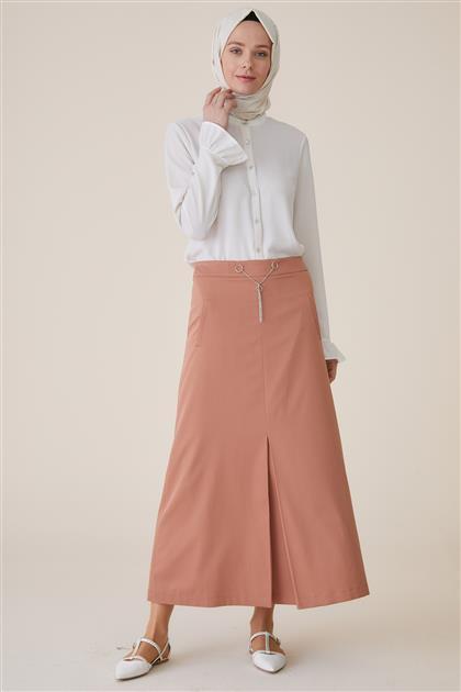 Skirt-Cinnamon TK-U8623-46