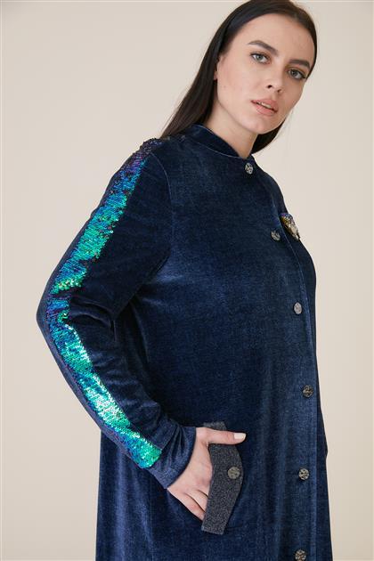 Kayra ملابس خارجية-كحلي ar-KA-A9-25024-11