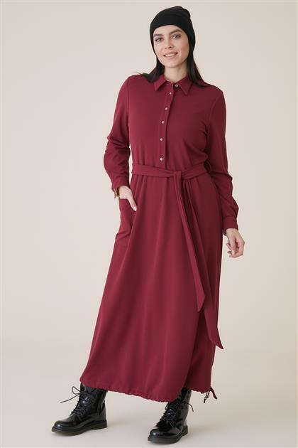 Dress-Claret Red KA-A9-23026A-26