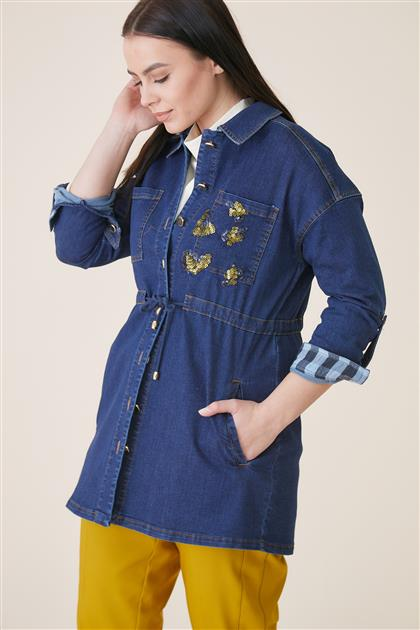 Jacket-Navy Blue KA-A9-13096-11