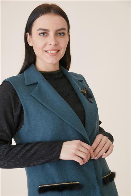 Kayra سترة بدون أكمام-بترولي ar-KA-A9-10018-58