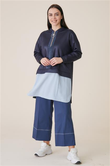 Tunic-Navy Blue KA-A9-21119-11