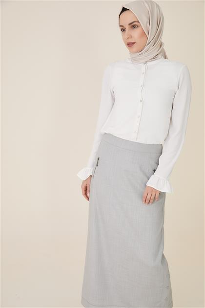 Skirt-Gray TK-U8609-05