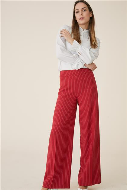 Pants-Red TK-U7623-11