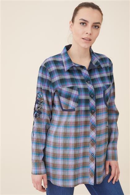 قميص-İndigo 8164-83