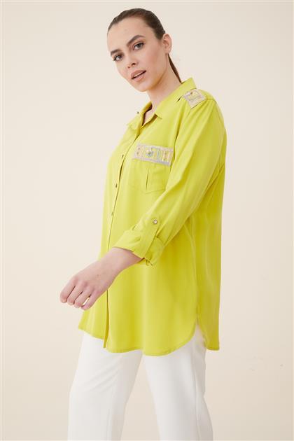 قميص-Fistik أخضرi 3027-23