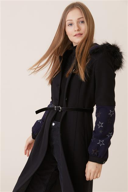 Coat-Black DO-A8-57015-12