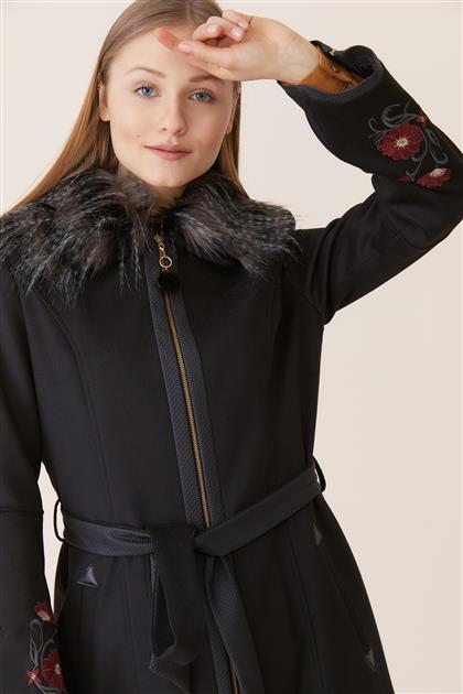 Coat-Black DO-A8-57022-12