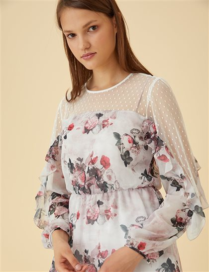 Blouse-Powder KA-B9-10142-32