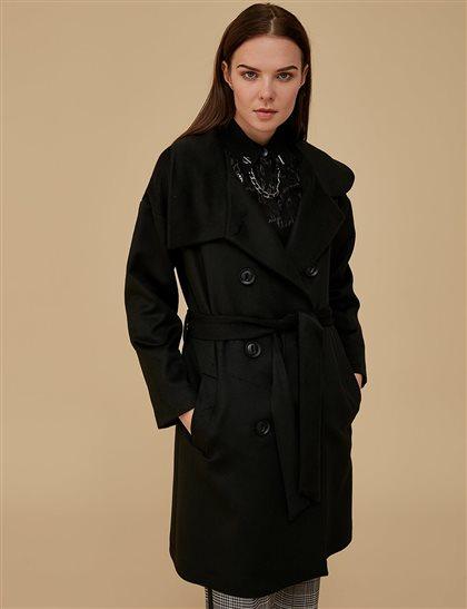 Coat-Black KA-A9-17063-12