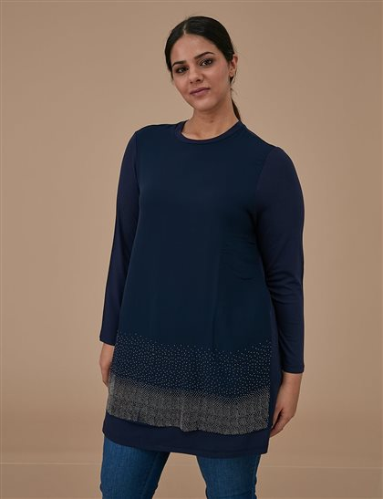 Tunic-Navy Blue KA-A9-21175-11