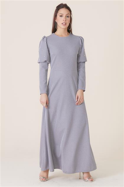 Elbise-Gri MPU-0S7015-04