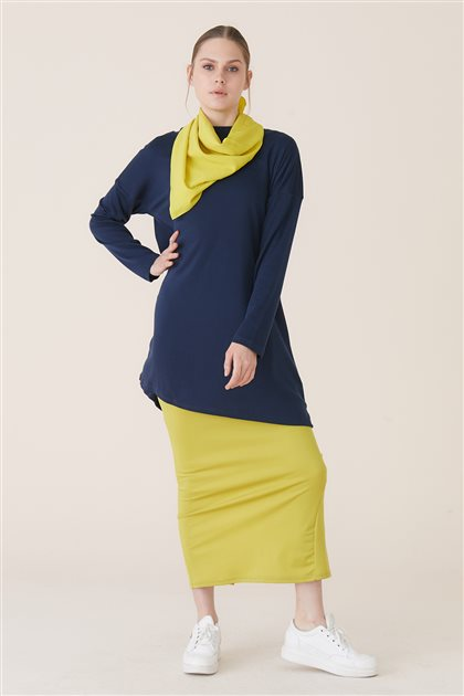 Tunic-Navy Blue 10325-17