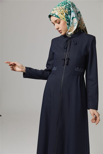 Doque Topcoat-Navy Blue DO-B20-55048-11