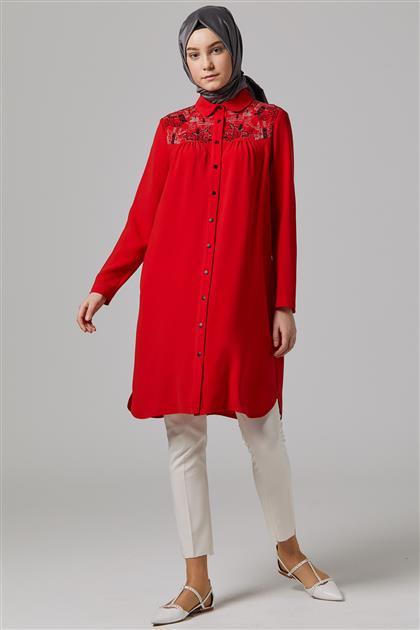 Tunik-Kırmızı DO-A9-61075-19