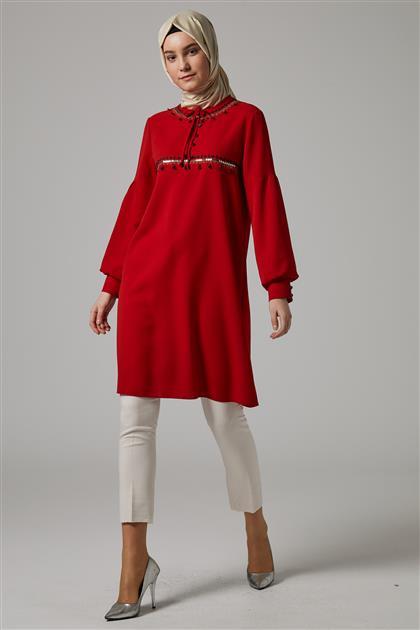 Tunik-Kırmızı DO-A9-61177-19