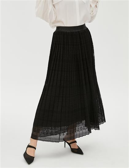 Skirt-Black KA-B20-12081-12