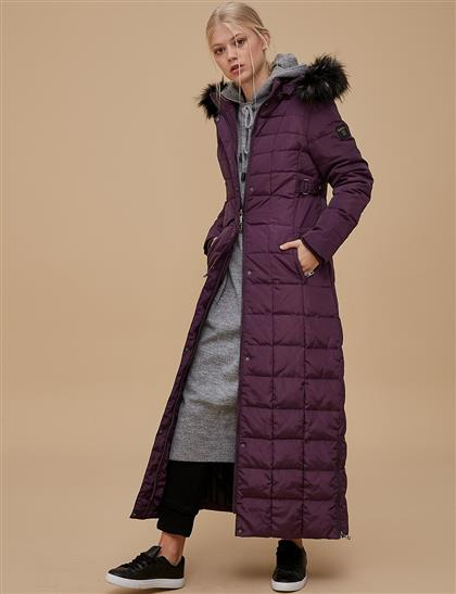 Coat Plum A8 27001