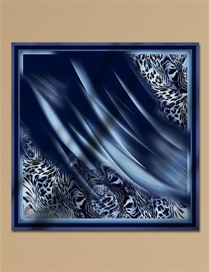 Twill Silk Scarf A9 ESP16 Blue
