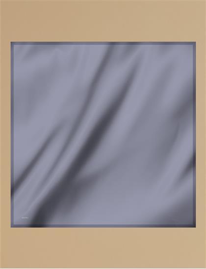 Twill Silk Scarf KA-SZ-ESP01 Gray