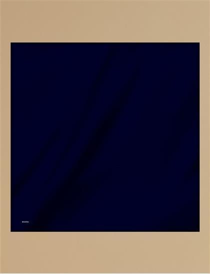 Twill Silk Scarf KA-SZ-ESP01 Navy Blue