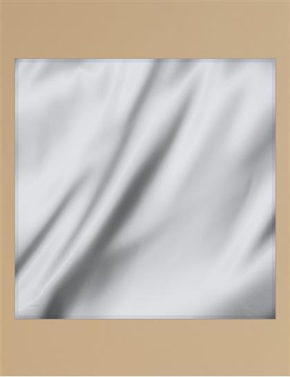 Twill Silk Scarf KA-SZ-ESP01 Light Gray