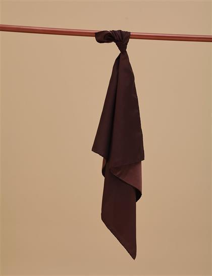 Twill Silk Scarf KA-SZ-ESP01 Brown